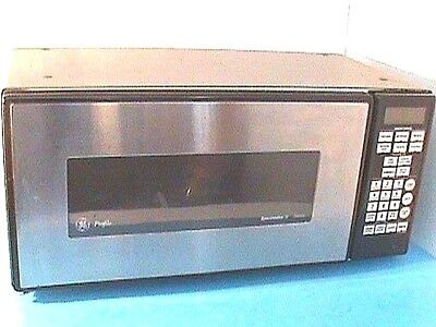 Ge 24 Profile Microwave Oven Emaker Ii 2 Chrome Black Excellent