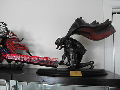 Art of war berserk Guts slash 1/6 bloodshed repainting statue figure