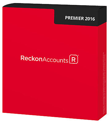 Reckon Accounts Premier 2016 Retail Box  No Subscription Required
