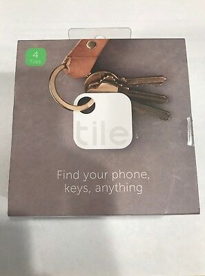Tile Gen 2 (4-pack) Tracking Device - Finds your phone keys, anything! Brand New