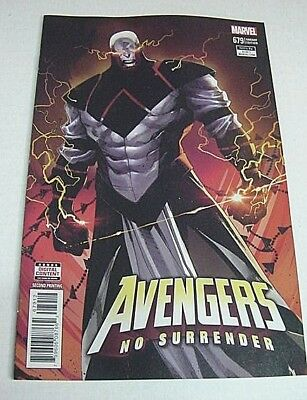 Avengers No Surrender #679 1St Appearance Of Challenger Second Printing Variant