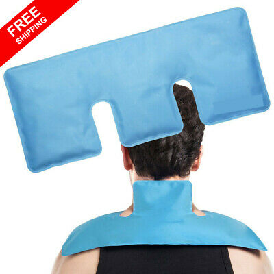 Shoulder Gel Ice Hot Cold Pack Reusable for Neck Belly Back