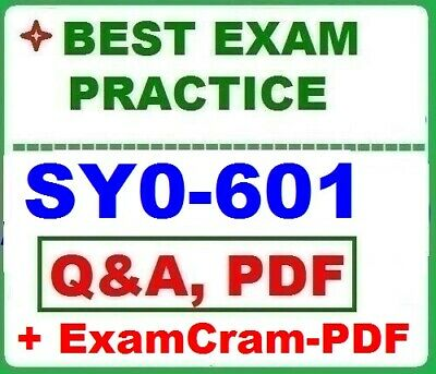 SY0-501-CompTIA Security+ - Best Exam Practice Q&A + 2 PDF STUDY GUIDES