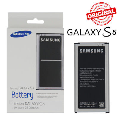 OEM Original EB-BG900BBC Battery 2800mAh For Samsung Galaxy S5 i9600 SM-900 NFC