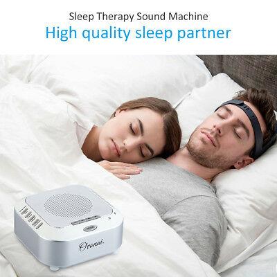 Baby Sleep Soothing Sound Machine White Noise 4 Kind Sounds Record Voice Sensor