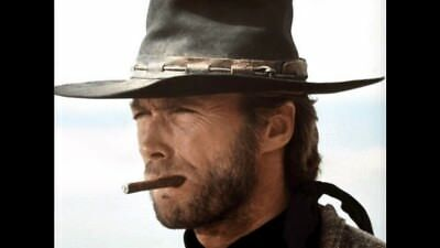 Custom Made 1/6 Scale Clint Eastwood Head Sculpt Cowboy the good