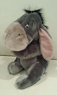 """Eeyore from Winnie the Pooh 10"""" Plush Soft Toy by Disney NEW"""