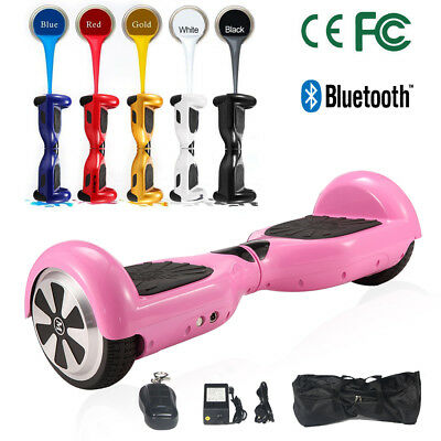 """6,5""""Eléctrico Patinete Scooter Bluetooth Selfbalancing Hoverboard 2 Ruedas Patín"""