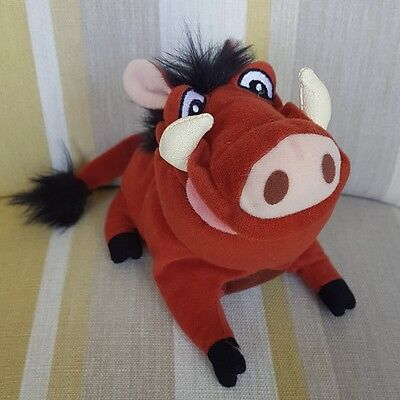 """Pumbaa from The Lion King 6"""" Beanie Plush by Disney soft toy plush"""