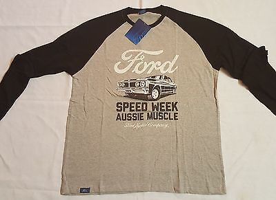 Ford Aussie Muscle Long Sleeve T-Shirt (Large)
