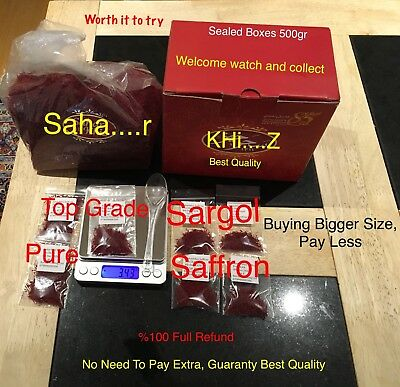 SAFRON SPICE 1gr %100 PURE SARGOL GUARANTE, PAY LESS BUY THE BEST OR FULL REFUND
