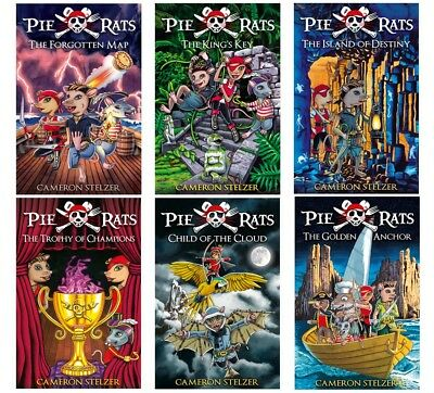 The Complete Pie Rats Series by Cameron Stelzer. 6 book set.