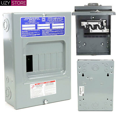 12 Circuit 6 Space 100 Amp Indoor Electric Main Lug Load Center Panel Box