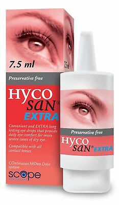 Hycosan Extra Eye Drops For Dry Eyes