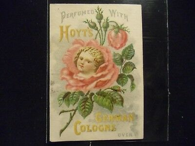victorian trade card # 3156 - HOYTS GERMAN COLOGNE
