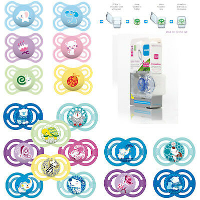 Baby Soother Dummy Pacifier Teat Nipple 0m+ / 6m+ Boy / Girl Mam Perfect