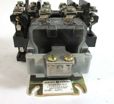 NEW General Electric CR2810A14DK2 Machine Tool Relay 115 V (100921)