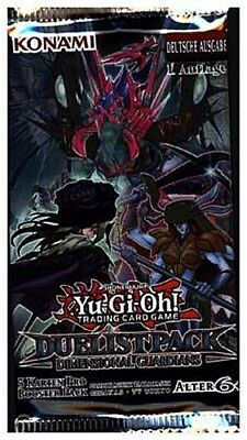 Yu-Gi-Oh! Duelist Pack: Dimensional Guardians 1 Booster