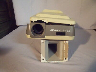 ⭐️Marco CP-670 For Parts Only! Optometry Acuity Auto Eye Chart Projector !O1 ⭐️