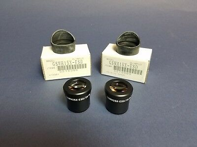 New Olympus Eyepieces  One Pair of 15X -   GSWH15X-ESD   5570000