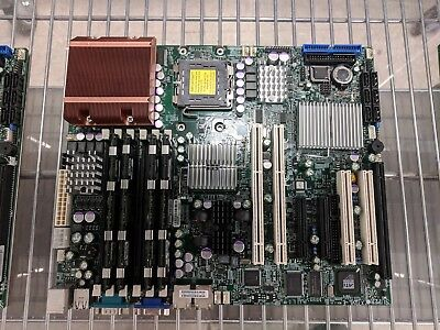 Supermicro X7DVL-E Dual Intel Socket LGA771 ATX Server Motherboard w/8GB Ram HS