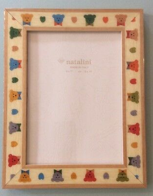 CHILDREN\'S PICTURE FRAME by Natalini Decorated With Little houses ...