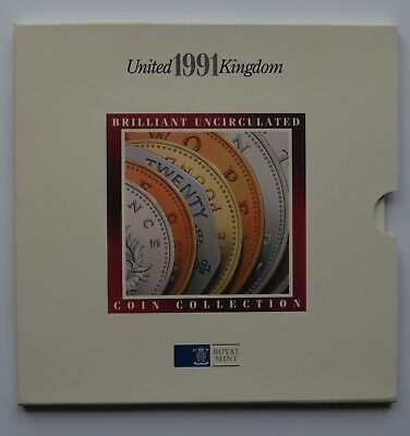 1991 United Kingdom Brilliant Uncirculated Coin Collection