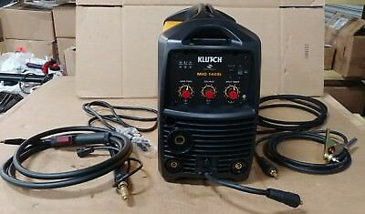 Klutch MIG 140SI Flux-Core/MIG Welder - 115V, 140 Amp, Inverter-Powered