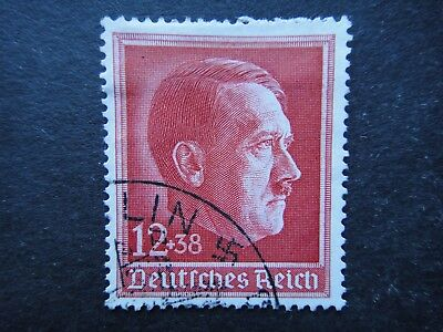 Germany Nazi 1938 STAMP used Adolf Hitler Third Reich Deutschland German