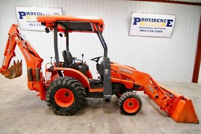 Kubota B26 Hst 4Wd Tractor Loader Backhoe, With Only 422 Hours!