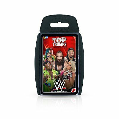WWE Top Trumps Card Game 2018 Edition New Sealed