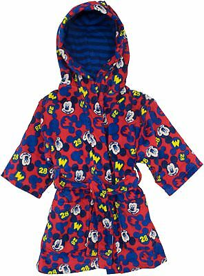 Disney Mickey Mouse & The Roadster Racers Toddler Boys' Beach Robe Swim Cover-Up