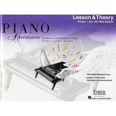 Piano Adventures: Lesson and Theory Book - Primer Level by Faber Piano...