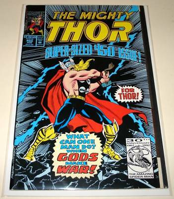 The Mighty THOR # 450  Marvel Comic  (August 1992)    FN   Anniversary issue