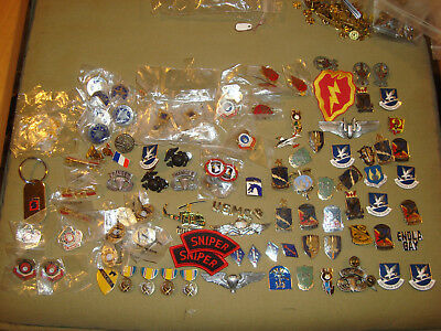 Modern Military and Police Pin Lot of Over 100