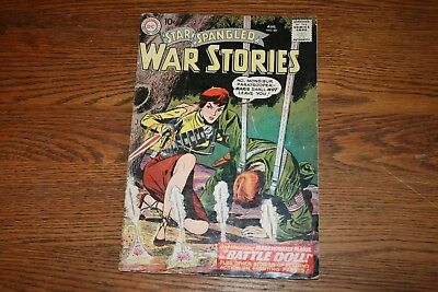 Star Spangled War Stories Aug No 84. Mademoiselle Marie Comic Book