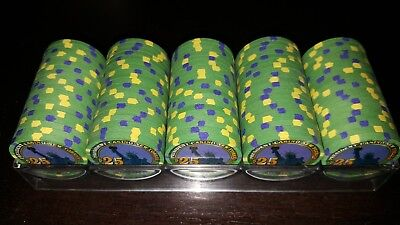 Paulson - President New Yorker PNY $25 Primary Chips - 100 Count - Uncirculated