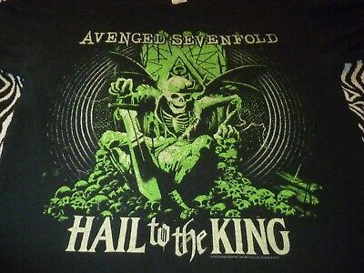 Avenged Sevenfold Shirt ( Used Size L ) Good Condition!!!