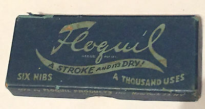 Vintage Floquil Products Six Nibs Pack FREE SHIPPING