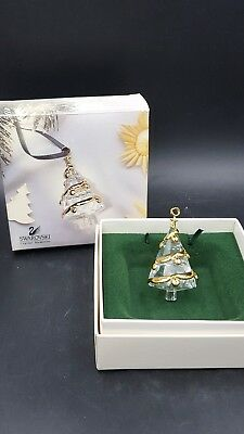 Swarovski Crystal Memories Christmas Ornament Tree Shaped