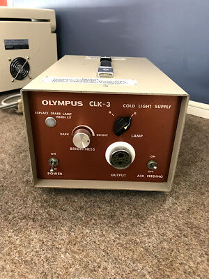 Olympus CLK-3 Light source Console - Cold light