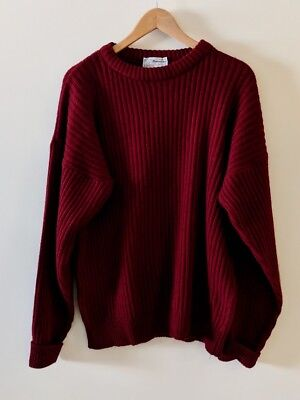 vintage, 80s: Pietramarina Collection, Made in Italy ribbed knit wool sweater