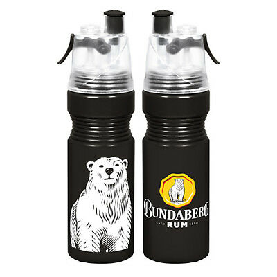 Misting Drink Water Bottle - Bundaberg Rum - 750ml - BNWT - Bundy
