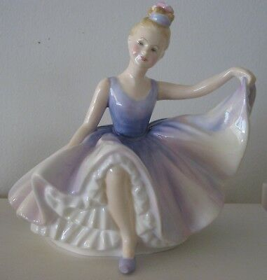 Vintage Royal Doulton Dancing Years Hn 2235 Bone China Figurine Made In England
