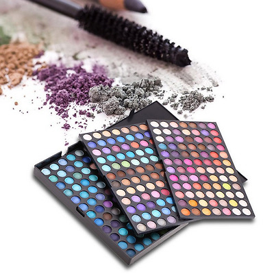252 Colors Cosmetic Matte Smoky Eye Shadow Eyeshadow Palette Makeup Shimmer Kit