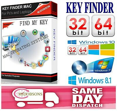 SERIAL AND PRODUCT Number Finder Windows 10/ 8 1 /8 /7 /Vista /XP