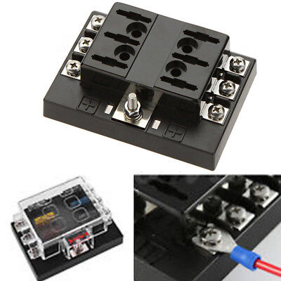 Replacement 1in6 Out Power Distribution Block ATC Automotive Fuse Panel/Holder❤️