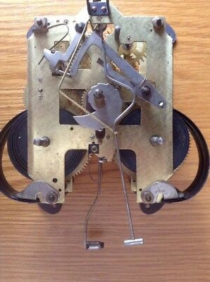 Vintage Clock Movement Complete ,Good Condition  & Working (B)