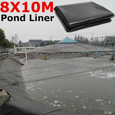 8X10M Fish Pond Liner Gardens Landscaping Pools HDPE Membrane Reinforced