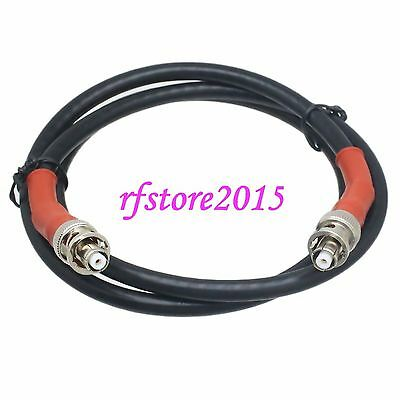 6FT SHV 5000V high voltage RP-BNC male jack to RP-BNC male plug crimp RG6 Cable